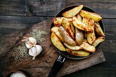 Pommes de terre frites Photo stock
