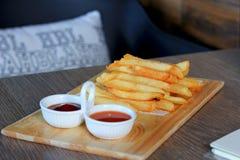 Pommes de terre frites Photographie stock libre de droits