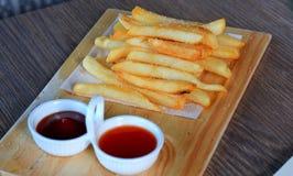 Pommes de terre frites Photos libres de droits