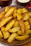 Pommes de terre frites en saindoux Images stock