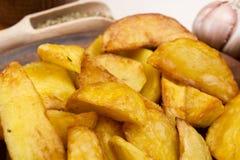 Pommes de terre frites en saindoux Photos stock
