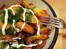 Pommes de terre rôties Image stock