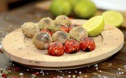 Pommes de terre rôties Photo stock