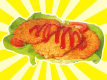 Pommes de terre rissolées Image libre de droits