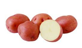 Pommes de terre rouges images stock