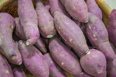 Pommes de terre rouges crues Images stock