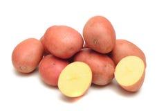 Pommes de terre rouges de peau Photos libres de droits