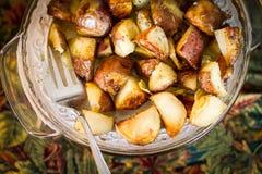 Pommes de terre sautées Photos stock