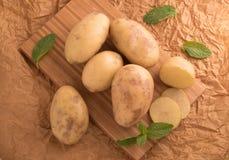 Pommes de terre savoureuses fraîches Photo libre de droits