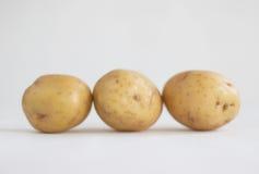 pommes de terre trois Photos libres de droits