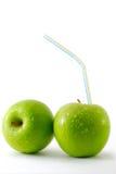 pommes deux frais Photographie stock libre de droits