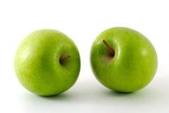 pommes deux frais Images libres de droits
