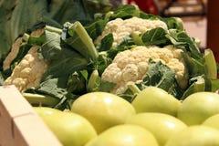 Pommes et choux Images stock