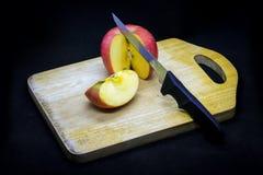 Pommes et prunes photo libre de droits
