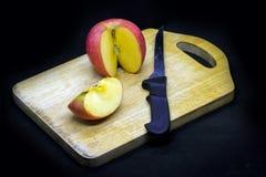 Pommes et prunes images libres de droits