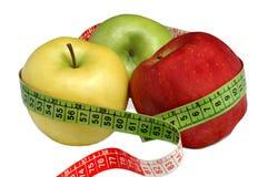 Pommes et santé Images libres de droits