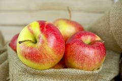Pommes fraîches Images libres de droits