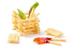 Pommes-Frites Stockfotografie
