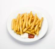 Pommes-Frites Stockbild