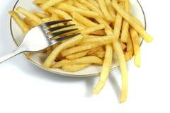 Pommes frites Photos stock