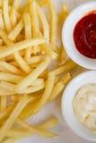 Pommes frites Arkivfoto