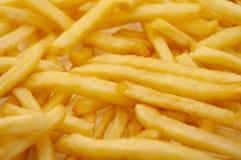 Pommes frites chaudes Image libre de droits