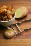 Pommes frites ; fait maison et croustillant Photos libres de droits