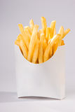 Pommes frites (plein projectile) image stock