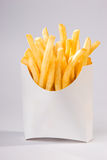 Pommes frites (plein projectile) Photo stock