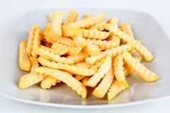 Pommes frites surgelées Image stock