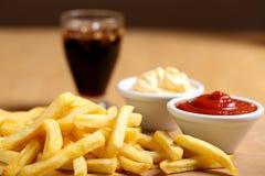 Pommes fritespotatisar Royaltyfri Foto