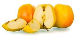 Pommes golden delicious Image libre de droits