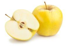 Pommes golden delicious Photo libre de droits