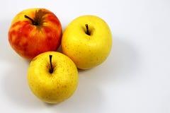 Pommes jaunes Photo stock