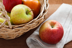 Pommes mûres Photographie stock