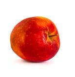 Pommes mûres sur un fond blanc, isolat, pommes sur le fond Images libres de droits