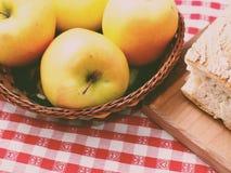 Pommes modifiées la tonalité Image stock