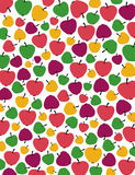 Pommes pattern-1 Photos stock