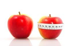 Pommes pour le régime Photographie stock libre de droits