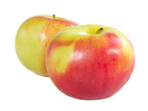 pommes Rouge-jaunes Images stock