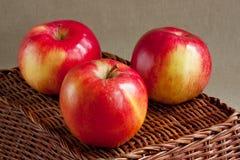 Pommes rouges image stock