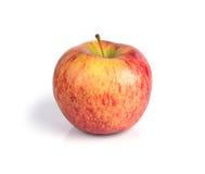 Pommes rouges d'isolement sur le fond blanc Image stock