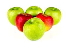 Pommes rouges et vertes - 07 Photos stock