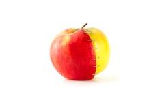 Pommes rouges et vertes Photographie stock libre de droits