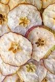 Pommes sèches images libres de droits