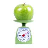 Pommes vertes Photos libres de droits