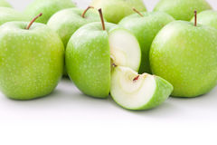 Pommes vertes photographie stock