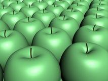 Pommes vertes illustration stock
