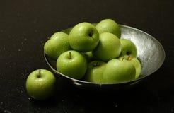 Pommes vertes Images stock