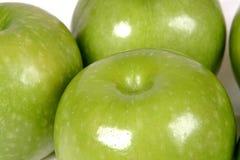 Pommes vertes Photo libre de droits